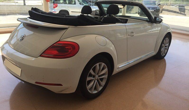 Beetle Cabrio Design lleno